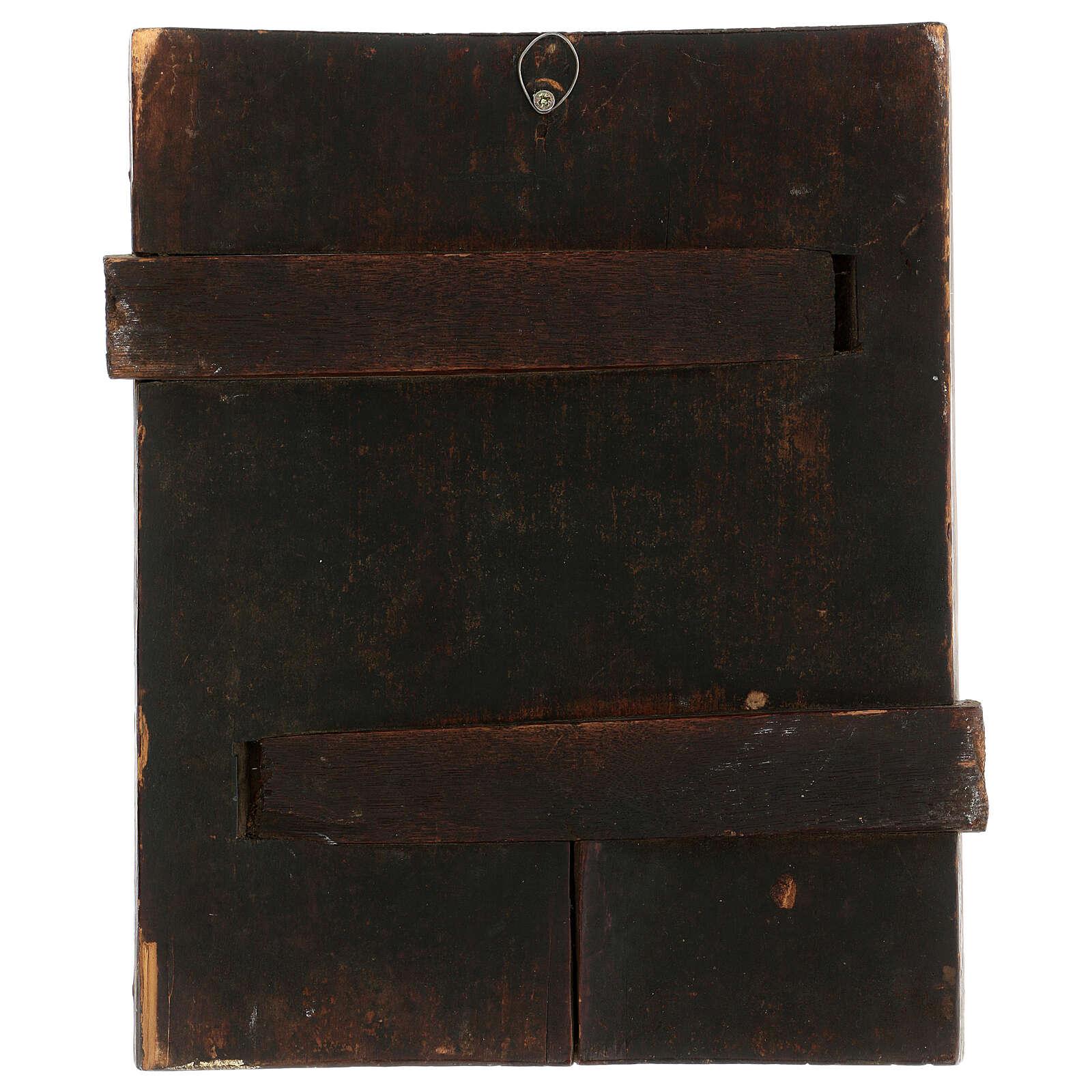 Icône Console Ma Peine Russie XIX siècle 30x20 cm 4