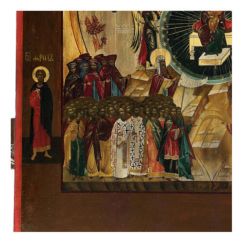 Icona Russia In Te Si Rallegra XIX sec 50x40 cm 3