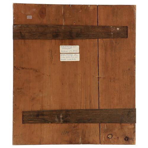 Icône Douze Fêtes fond or Russie XIX siècle 40x30 cm 6
