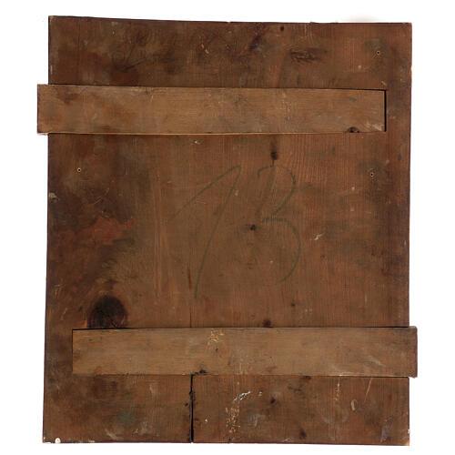 Icône ancienne Les Douze Fêtes Russie 40x30 cm 5