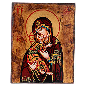 Rumanian hand-painted icons: Our Lady of the Don icon