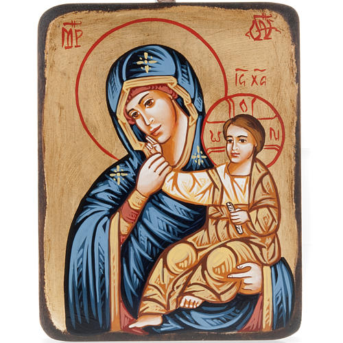 Icône mère de Dieu,Paramithia 1