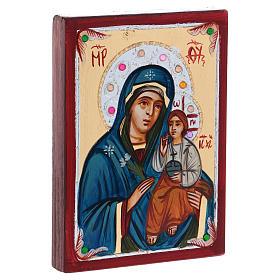 Icona Romania Madre di Dio Odighitria s2