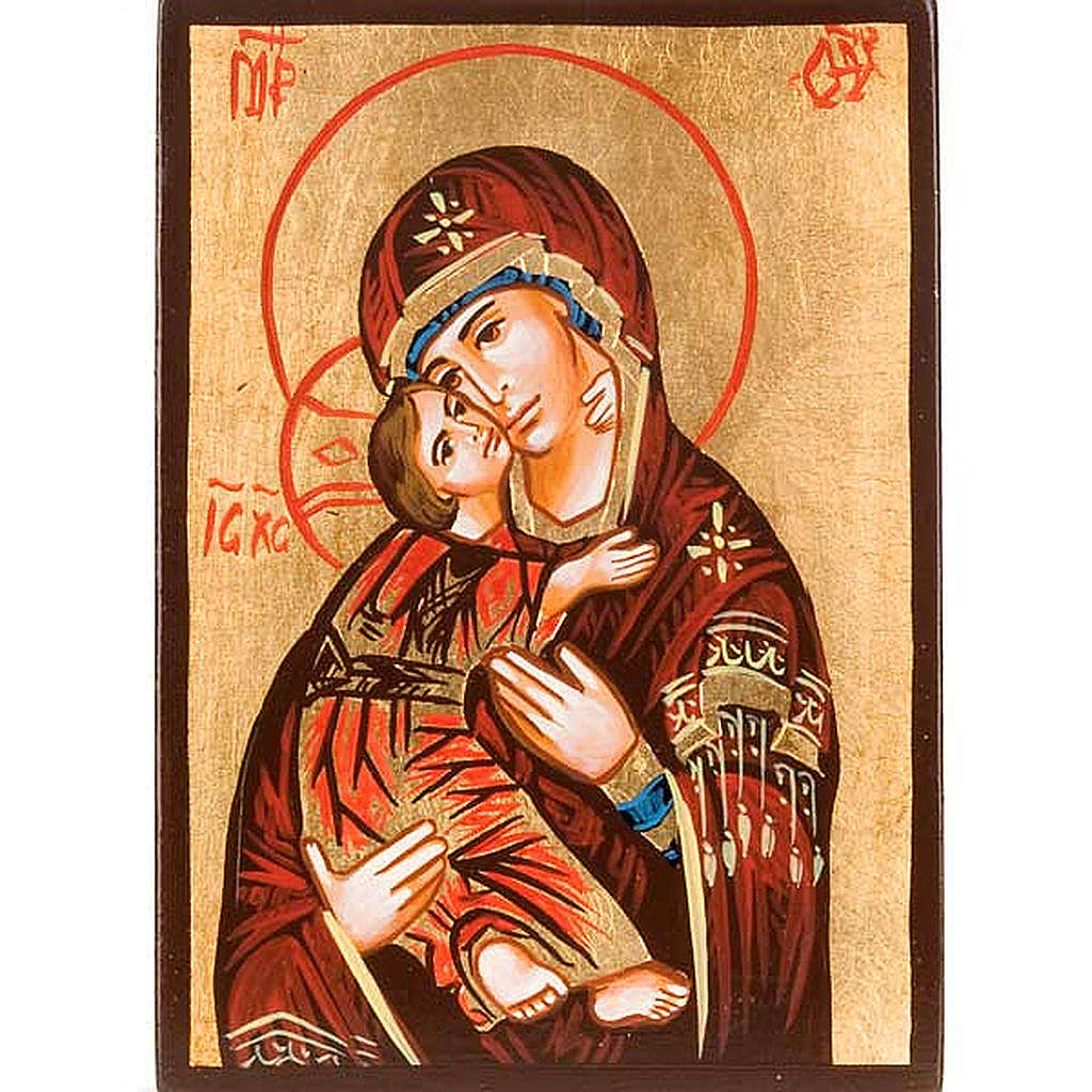 Mother of God of Vladimir Icon painted in Romania 4