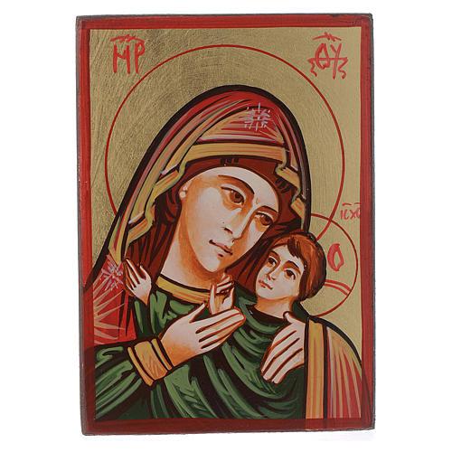 Icône Roumanie Mère de Dieu Kasperov peinte 1