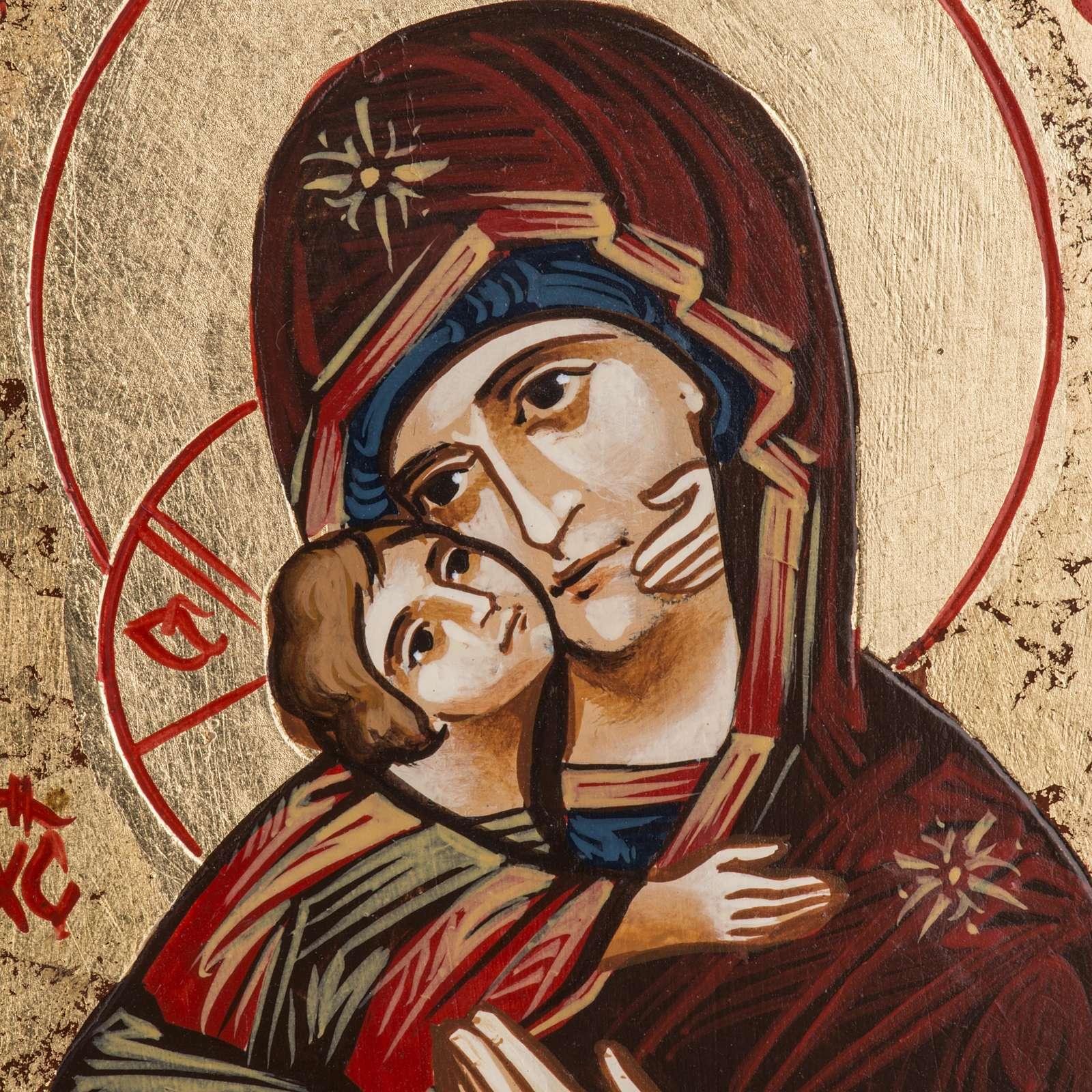 Icône Sainte Vierge de Vladimir Roumanie 4