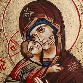 Icône Sainte Vierge de Vladimir Roumanie s2