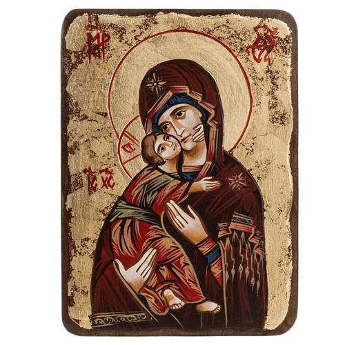 Icône Sainte Vierge de Vladimir Roumanie 1