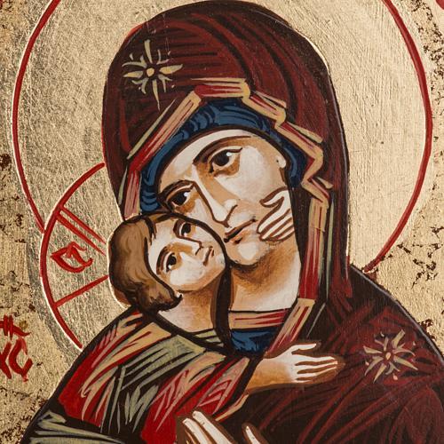 Icône Sainte Vierge de Vladimir Roumanie 2