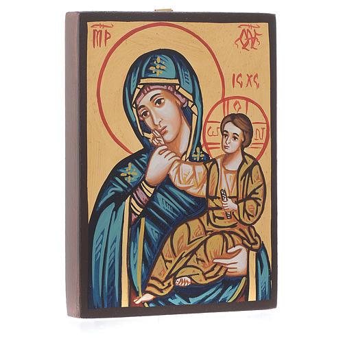 Icona sacra Vergine Paramithia Romania 2