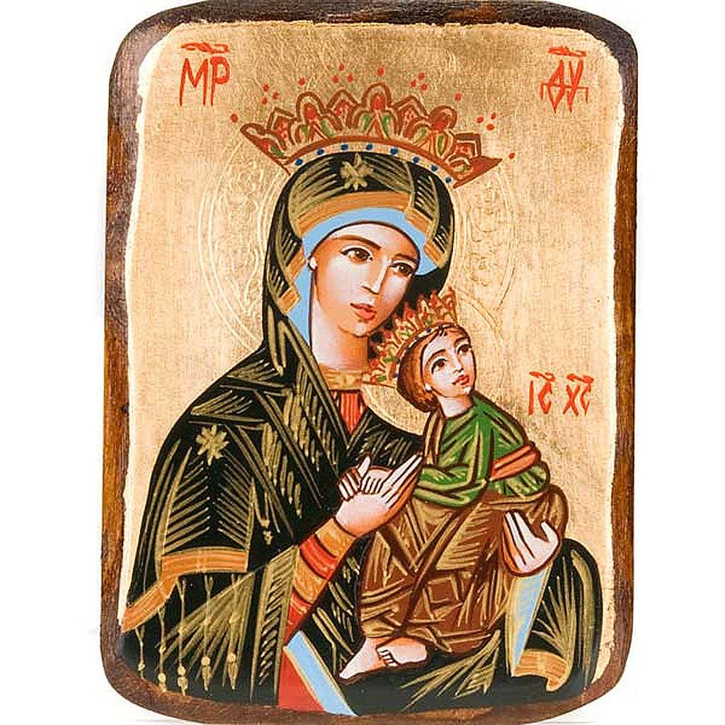 Icona Madre Dio Passione dipinta Romania 4