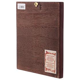 Ícone Pantocrator livro aberto fundo ouro s3