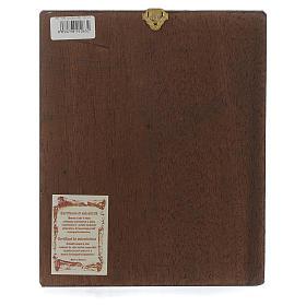 Icona Pantocratore libro aperto fondo oro Romania s3