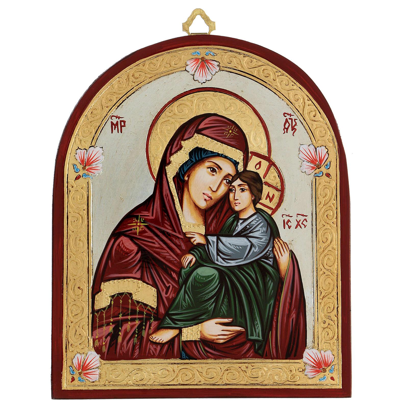 Ícono Virgen de la Ternura 4