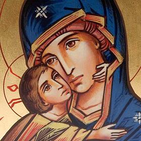Icône imprimée Vierge de Vladimir de la Tendresse s2