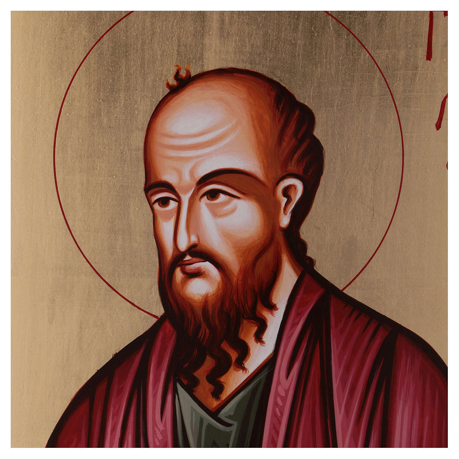 Ícono pintado San Pablo 4