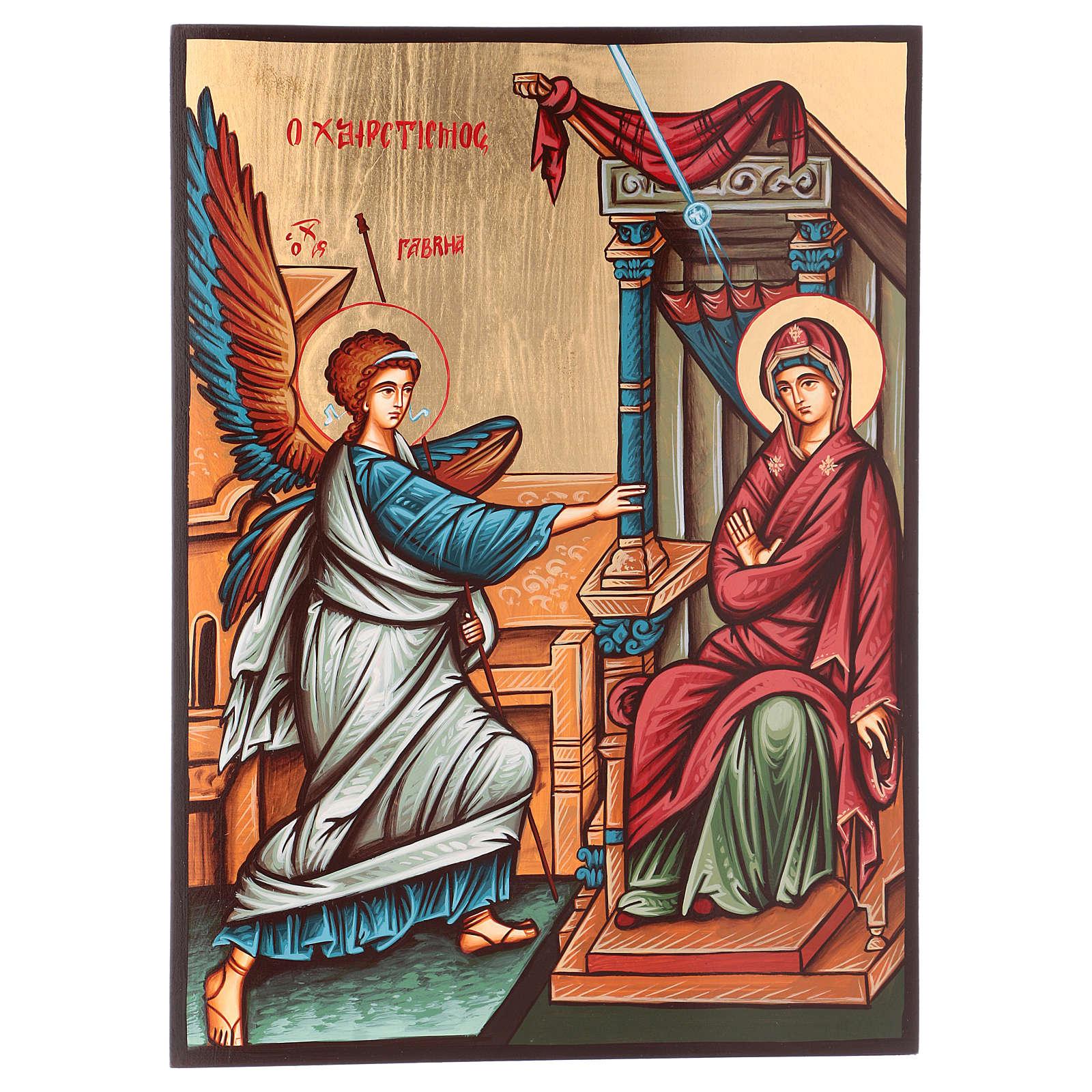 Icona dell'Annunciazione 4