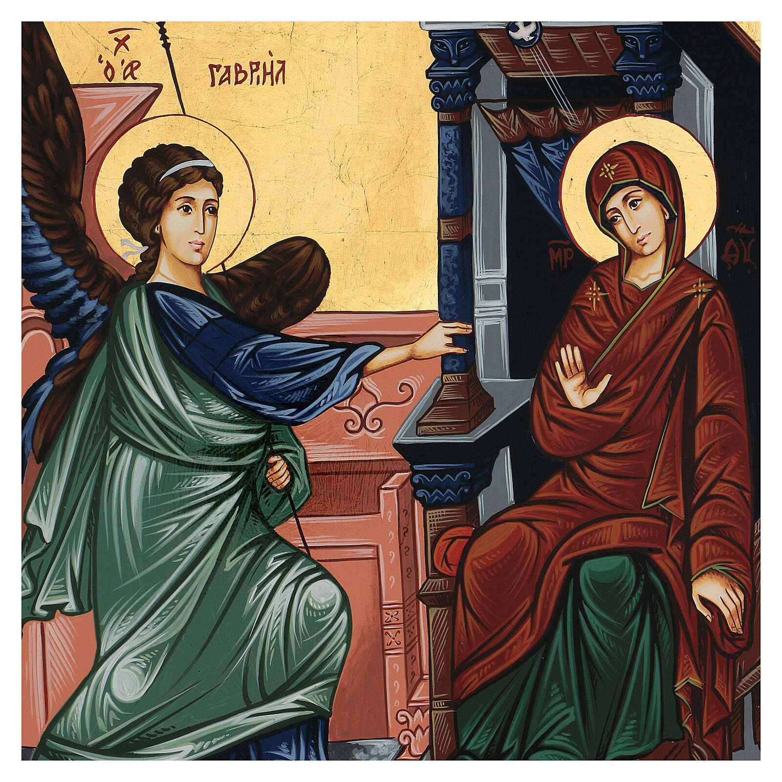 Icon of the Annunciation 4