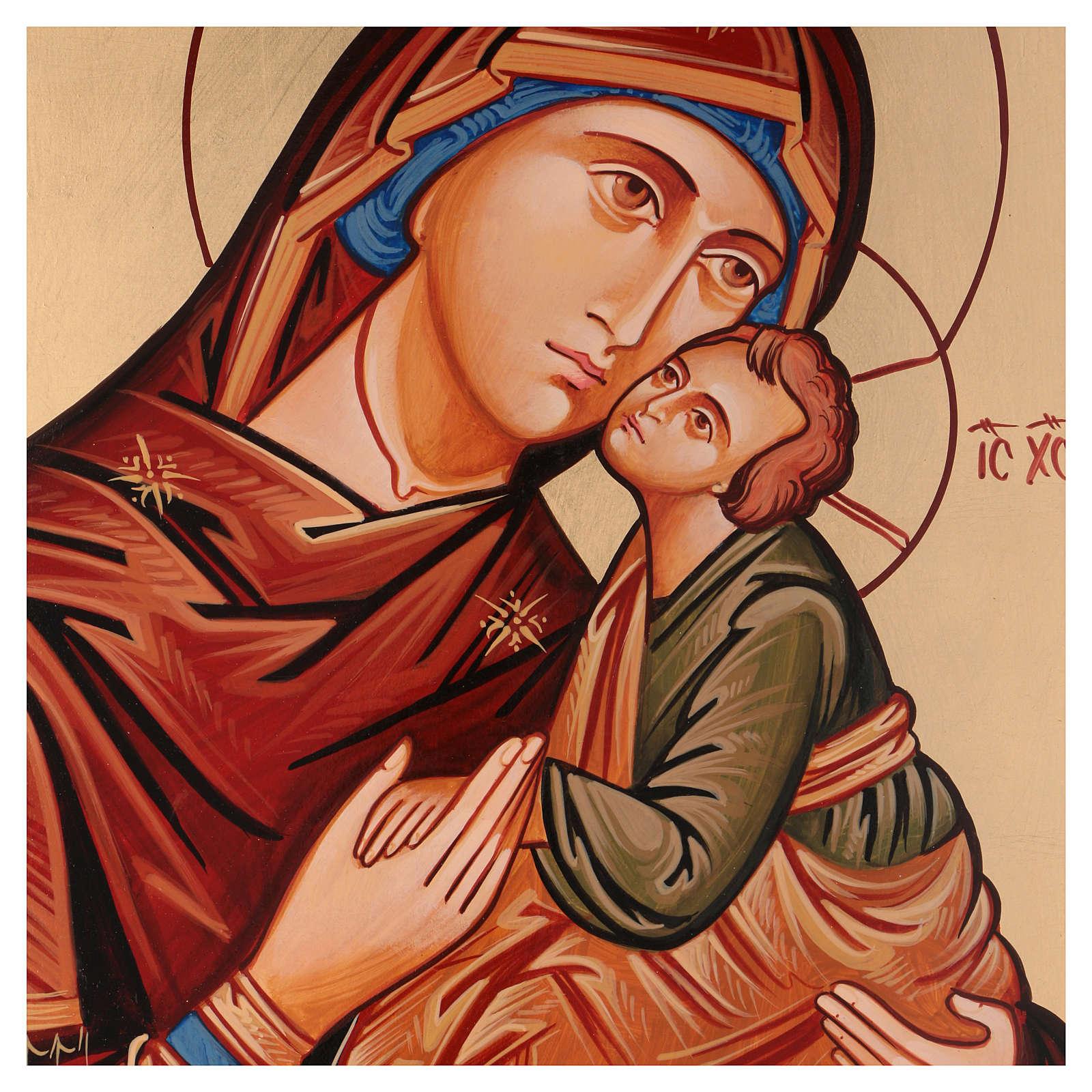 Ícono Virgen Eleousa ( de la misericordia) 4