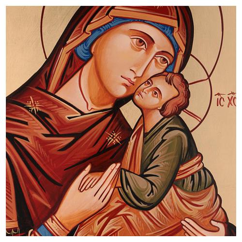 Ícono Virgen Eleousa ( de la misericordia) 2