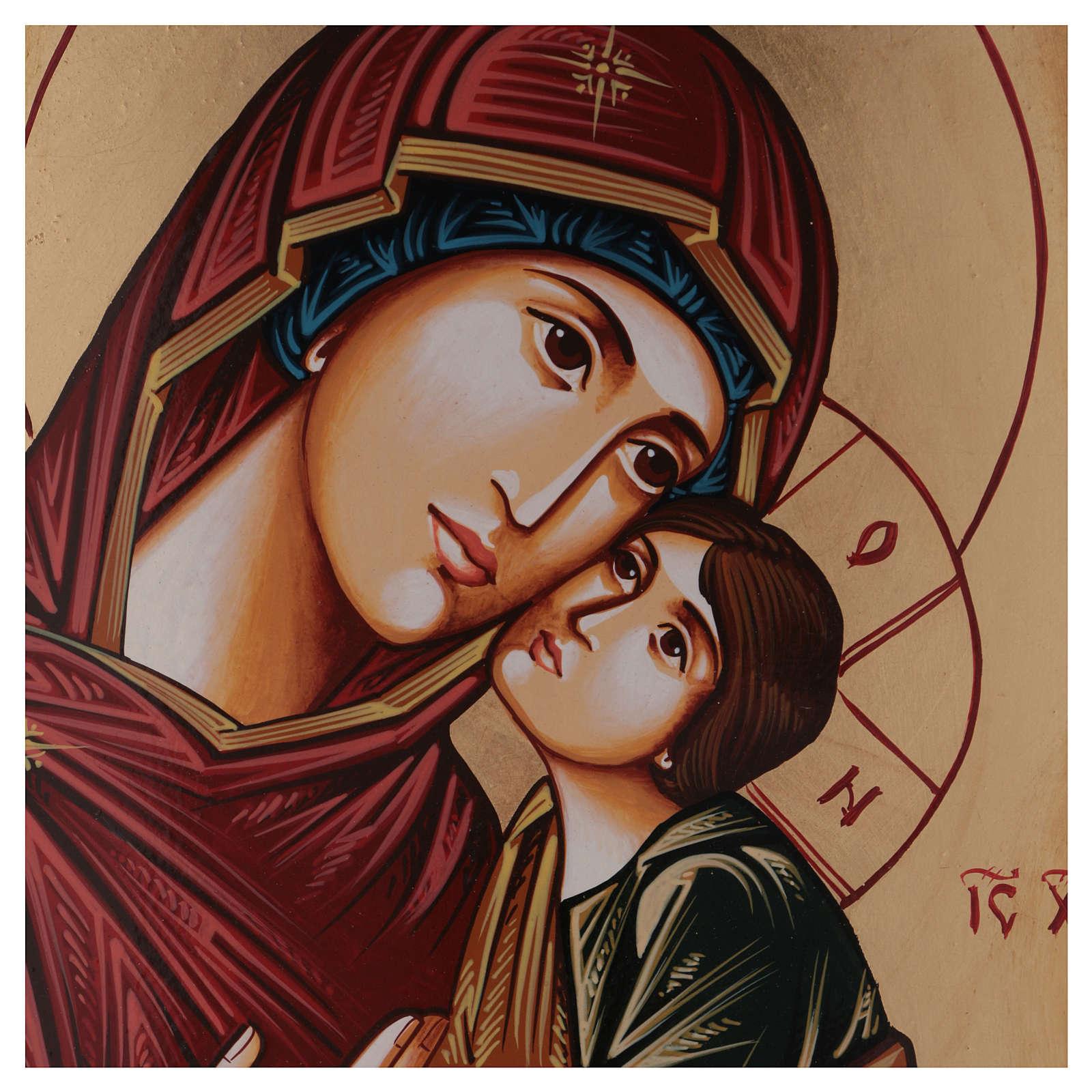 Icona Vergine Eleousa (la misericordiosa) 4