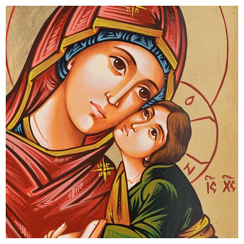 Icona Vergine Eleousa (la misericordiosa) 2