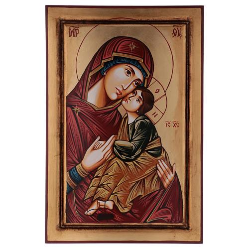 Icona Vergine Eleousa (la misericordiosa) 1