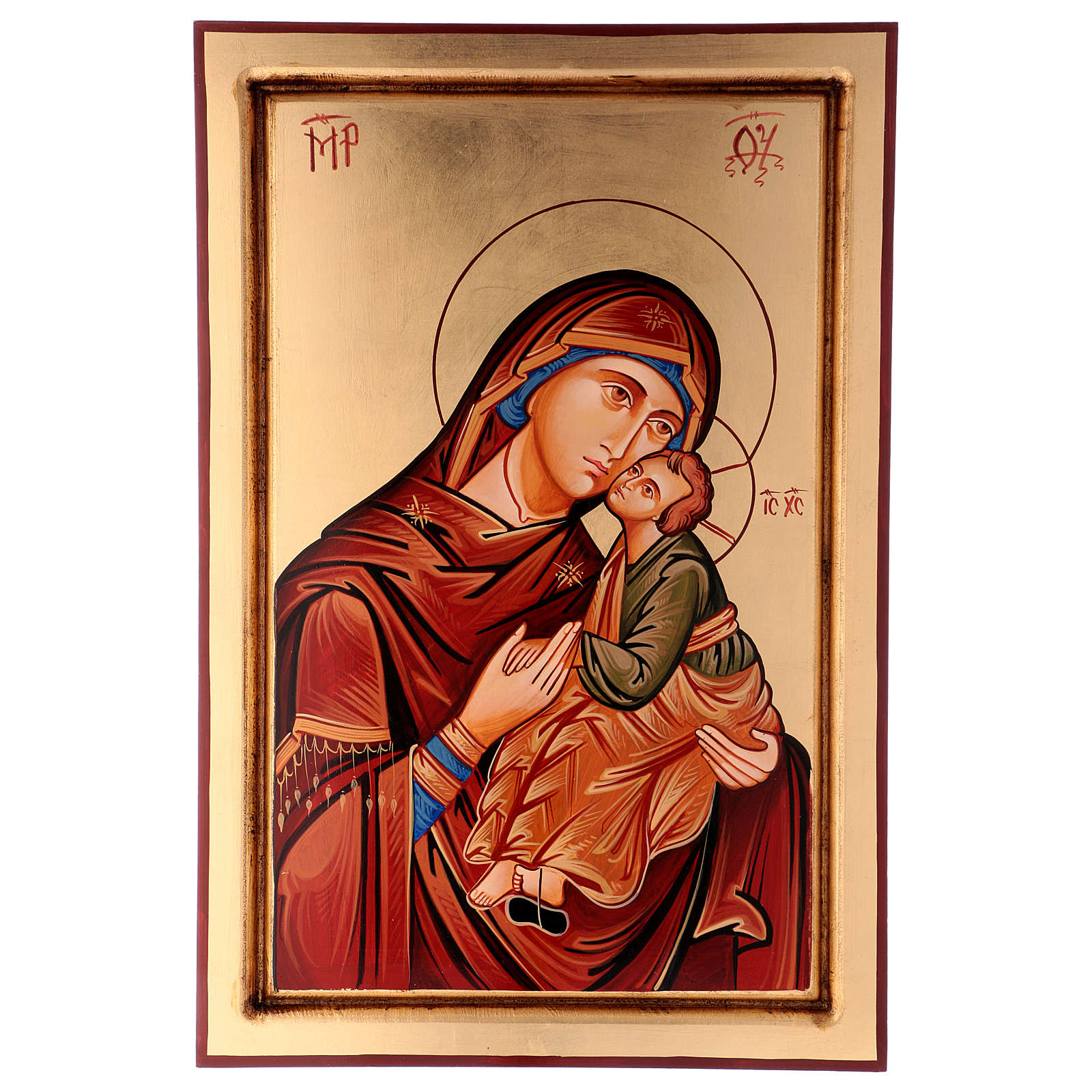 Ikona Dziewica Eleusa (miłosierna) 4