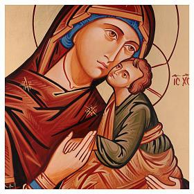 Ikona Dziewica Eleusa (miłosierna) s2