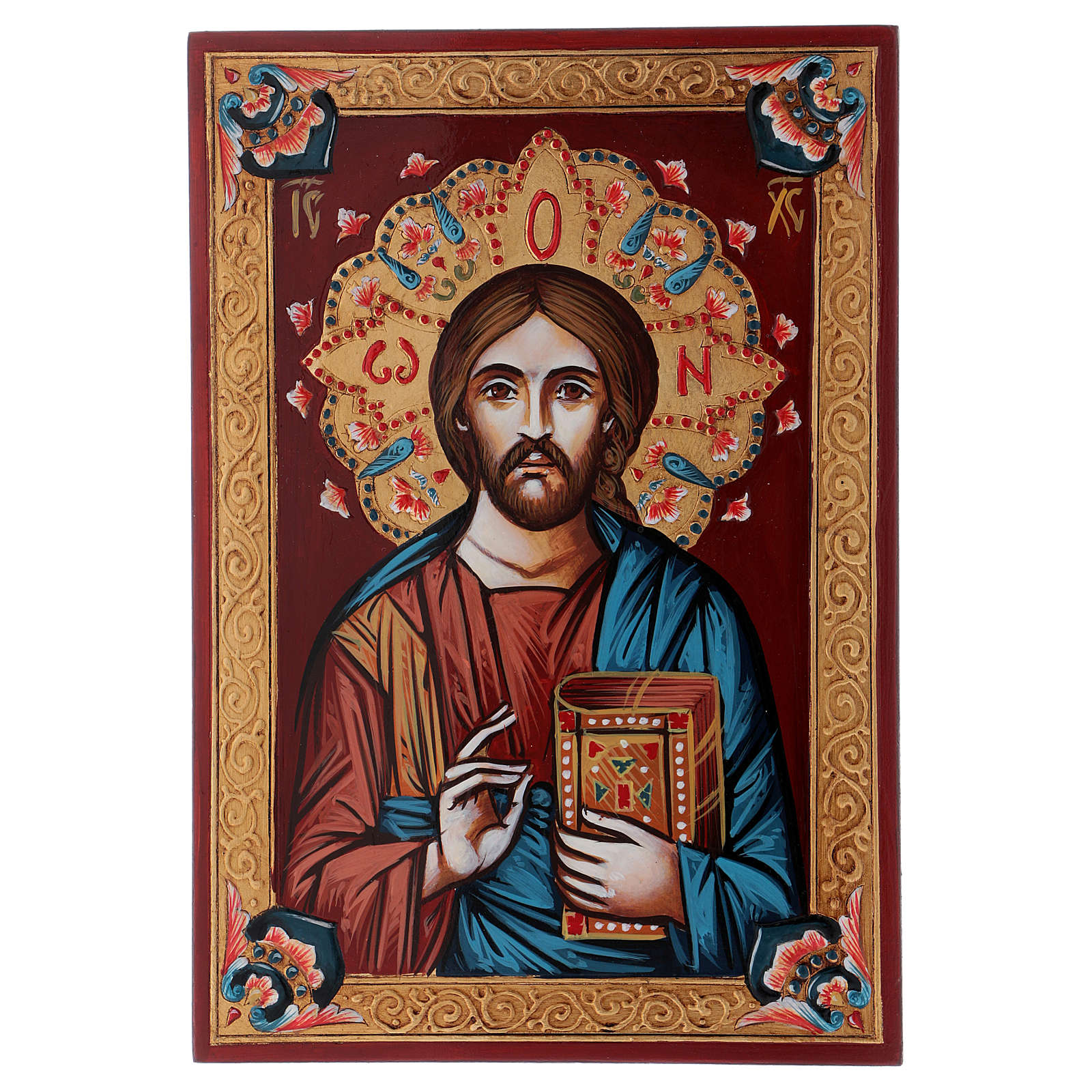 Christ the Pantocrator icon, closed book 4
