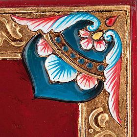 Icône  Christ Pantocrator, livre fermé s4