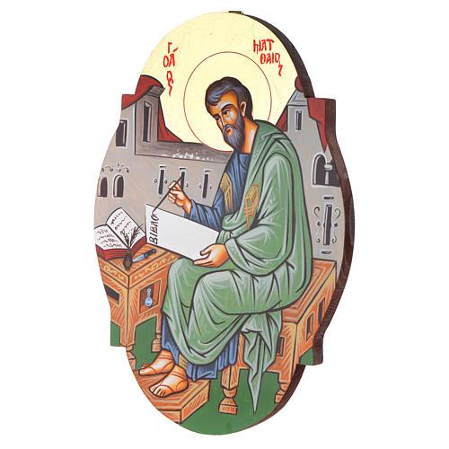 Icona San Matteo ovale 2