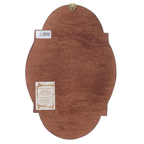 Icona San Matteo ovale 3