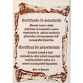Icona San Giovanni Evangelista ovale s4