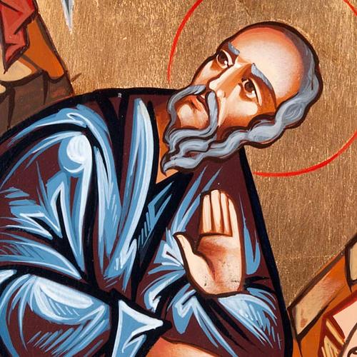 Icona San Giovanni Evangelista ovale 3