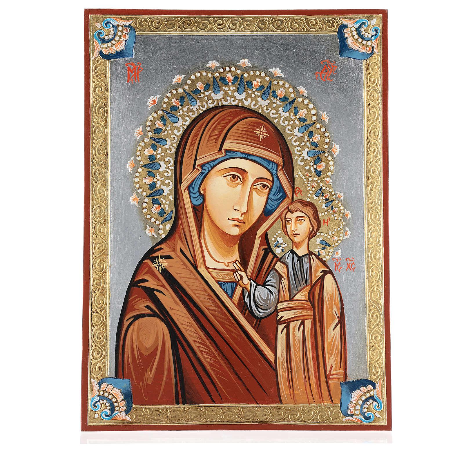 Icona rumena Vergine Kazan 4