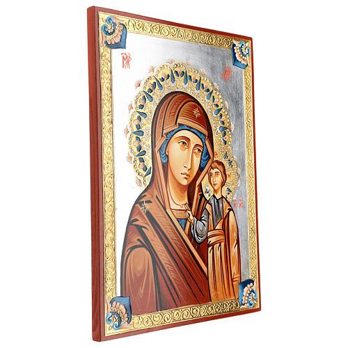 Icona rumena Vergine Kazan 3