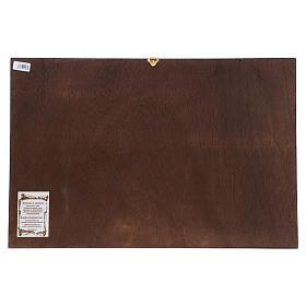 Icona ultima cena bizantina 40x60 cm s2