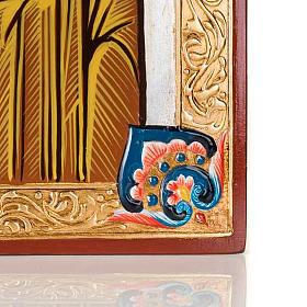 Icona Vergine di Kazan dipinta a mano 40x60 cm s4