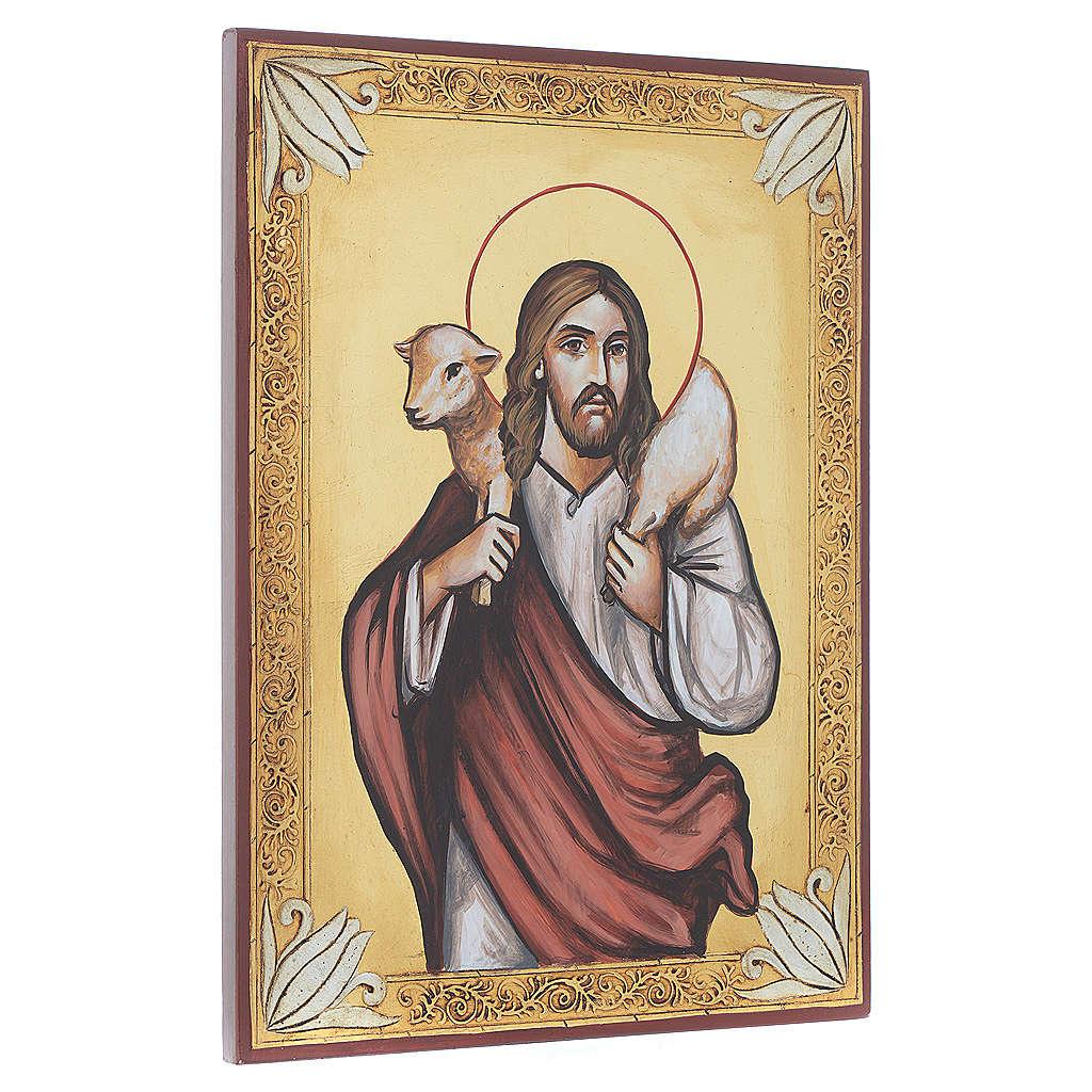 Icona Cristo Buon Pastore 4