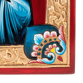 Icona dipinta a mano Pantocratore s3