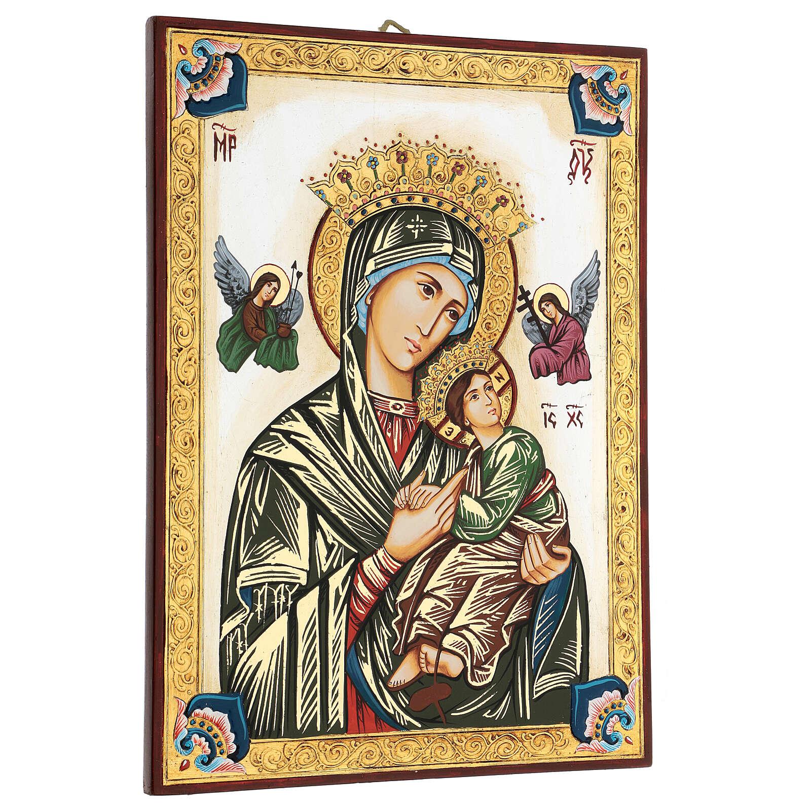 Icona Madonna del Perpetuo Soccorso Romania 4