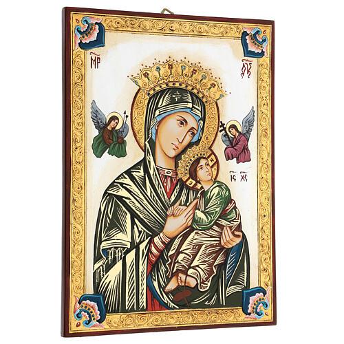 Icona Madonna del Perpetuo Soccorso Romania 3