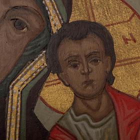 Icona Russa Madonna di Kazan 20x15 cm s4