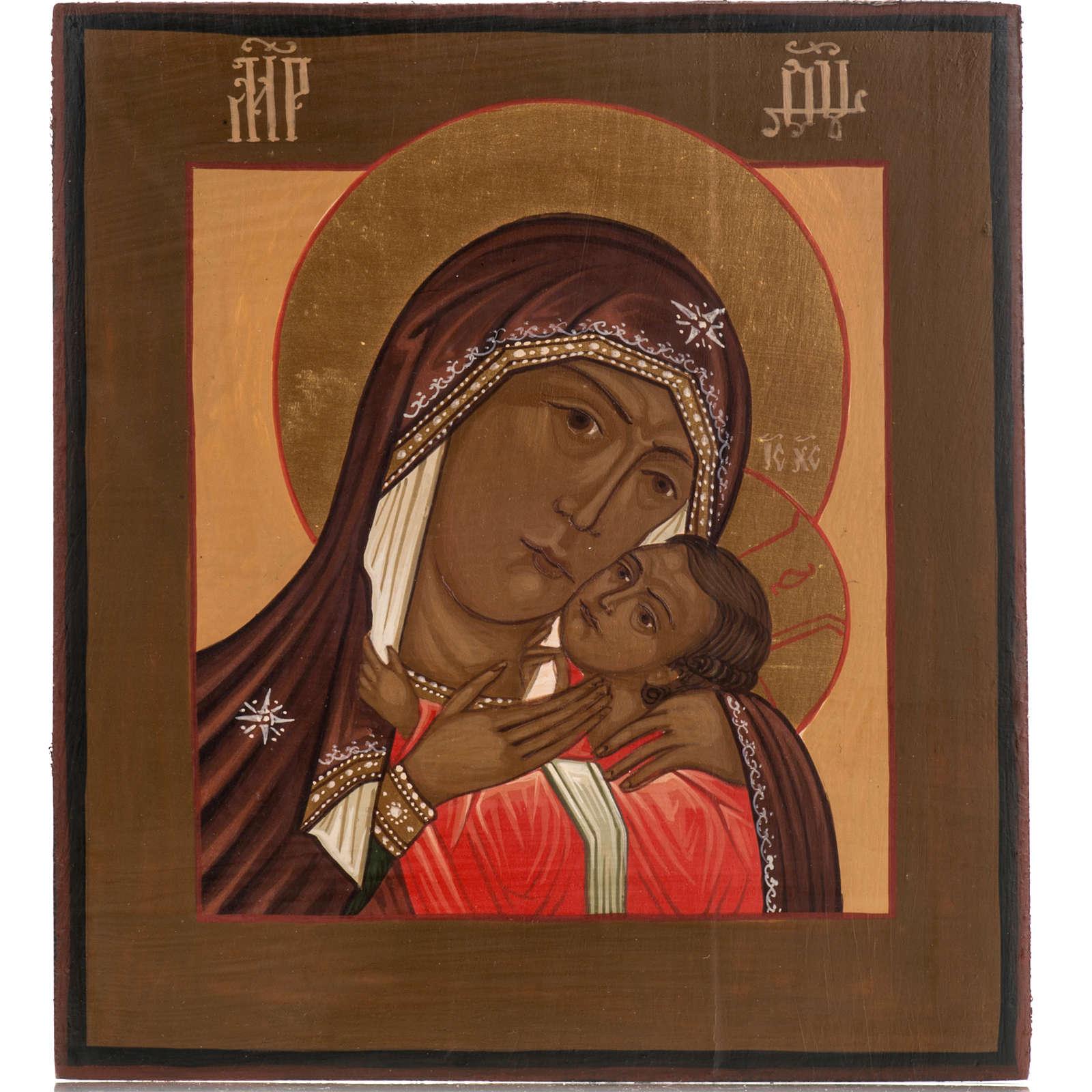 icona Russa Madre di Dio di Korsun 20x17 cm 4
