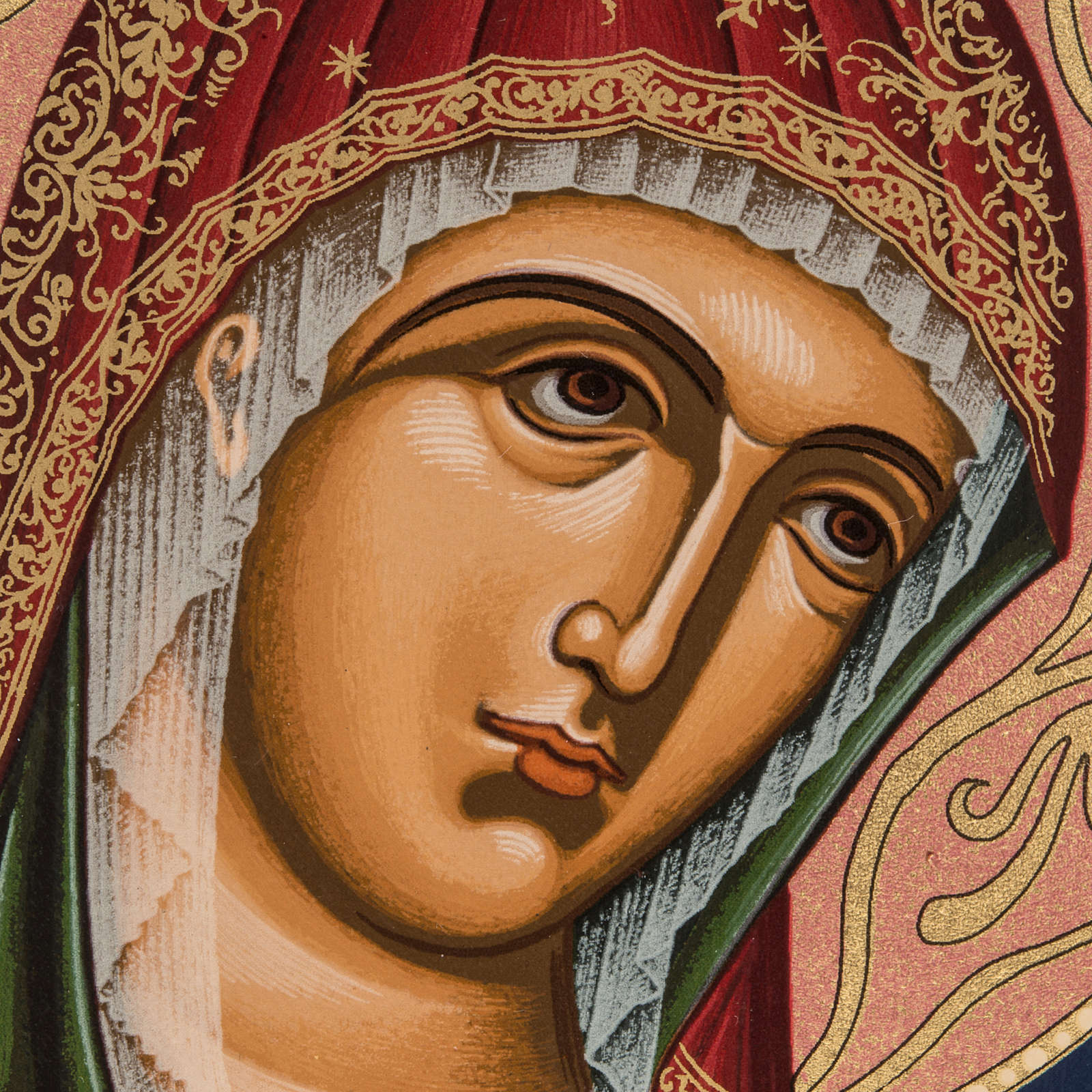 Icona serigrafata Madonna - Grecia 4