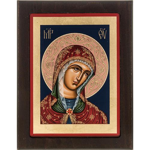 Greek silkscreen print, Our Lady 1