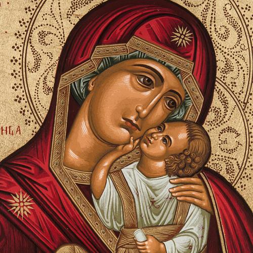 Icona serigrafata Madre di Dio della Tenerezza Grecia 2
