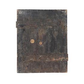Icona Madonna Tenerezza Korsun su tavola antica s4