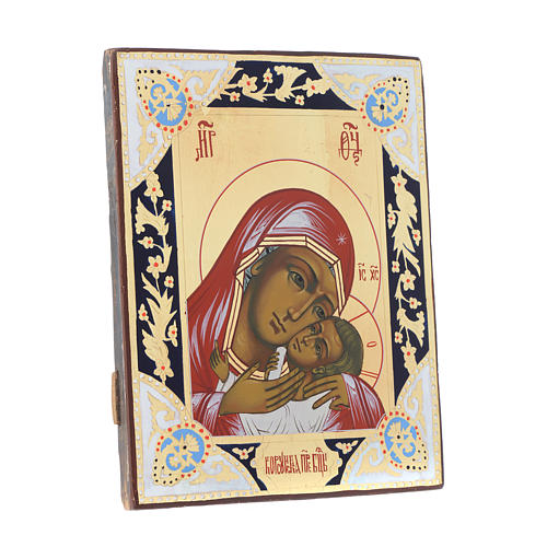 Russian icon Mother of God of Korsun 30x24 cm 3
